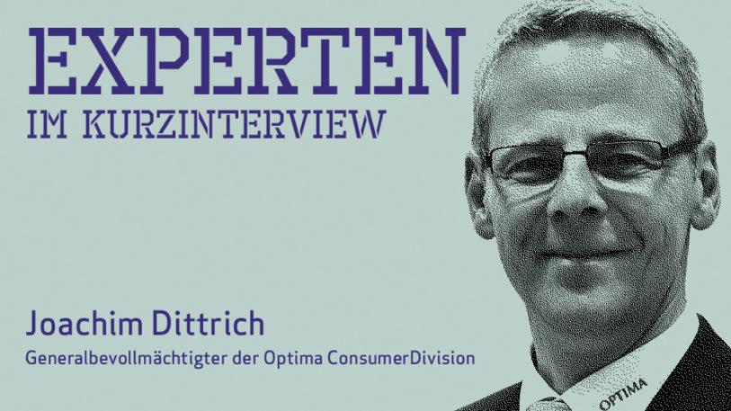 Joachim Dittrich, Optima Consumer Division (Bild: Optima)