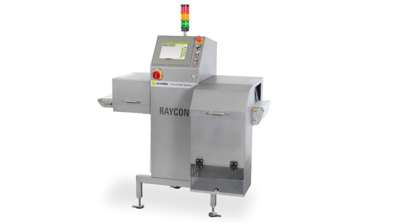 Röntgeninspektionssystem RAYCON von Sesotec