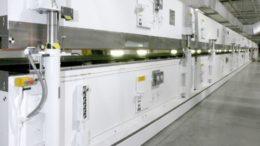 Heißluft-Schwebetrockner für Beschichtungsanwendungen von Dürr
