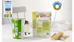 Tipps für die Tonne auf Aldi-Verpackungen (Bild: Aldi Süd)