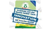 Werner & Mertz will recycelte PET-Schalen für seine WC-Frische-Spüler nutzen