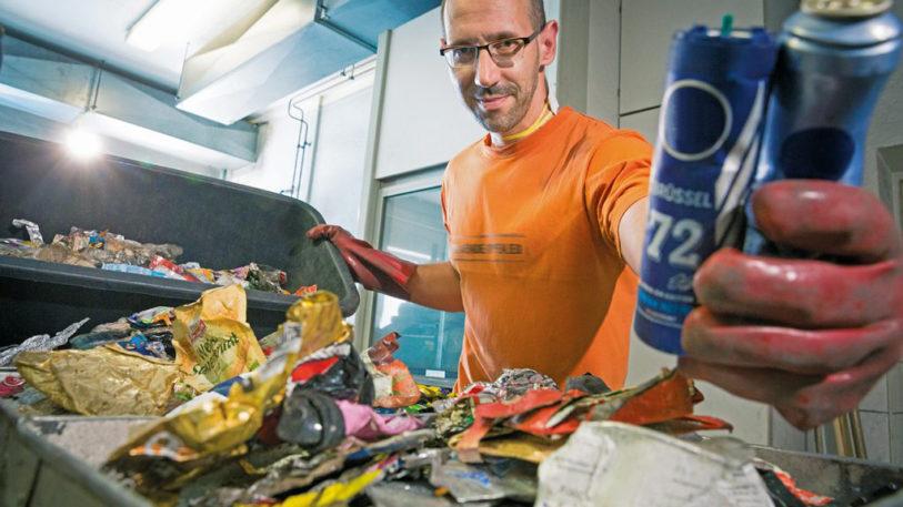 Seit 1992 wird in Deutschland Müll getrennt. (Bild: Der Grüne Punkt)