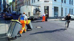 Abfuhr der gelben Mülltonnen (Bild: Der Grüne Punkt)