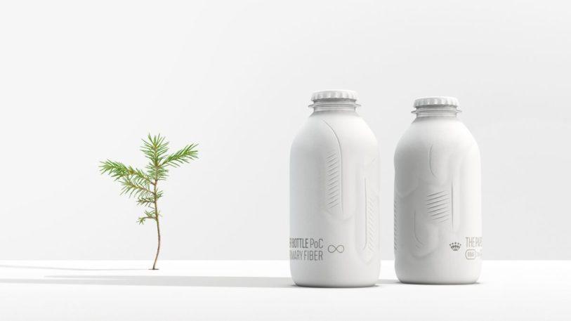 Biobasierte, recyclingfähige Papierflaschen Biobasierte, recyclingfähige Papierflaschen sind das Ziel des Joint Ventures von BillerudKorsnäs und Alpla. (Bild: BillerudKorsnäs)