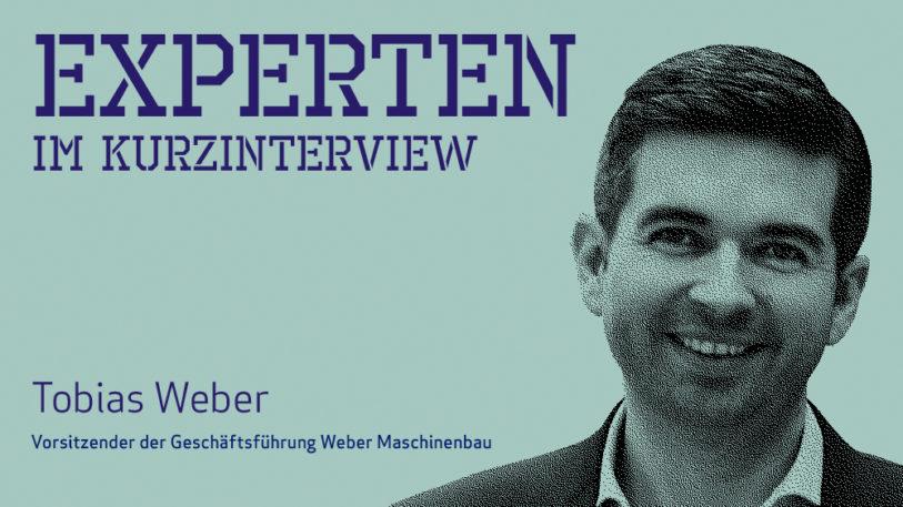 Tobias Weber, Weber Maschinenbau