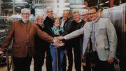 Inbetriebnahme der Dynafill bei der Brauerei Bischofshof (Bild: Krones AG/Simon Gehr)