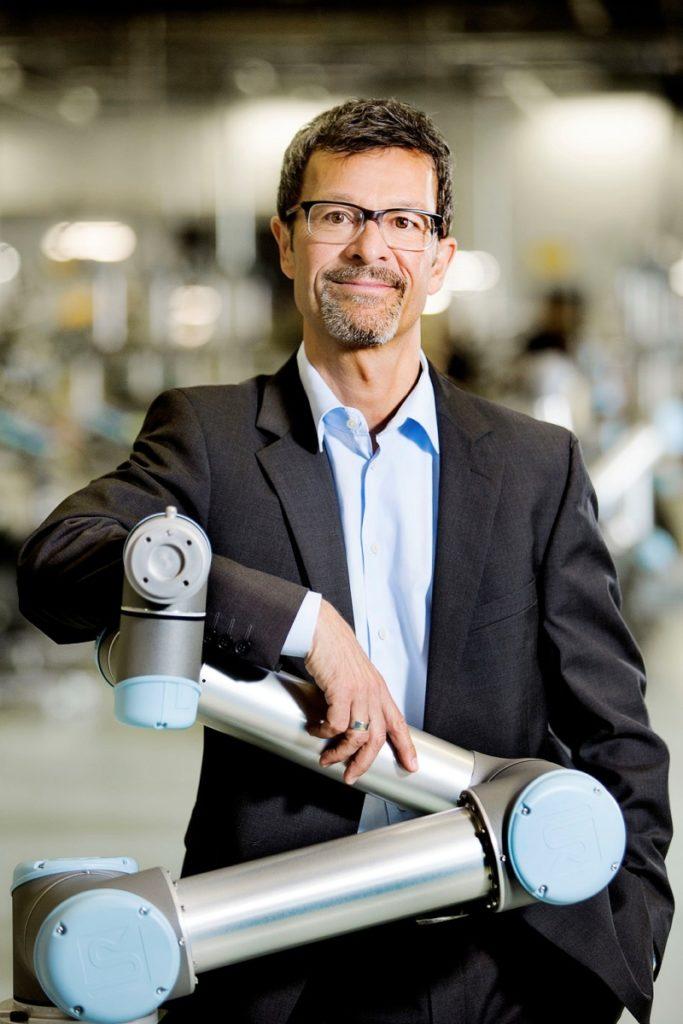 Helmut Schmid, Geschäftsführer der Universal Robots