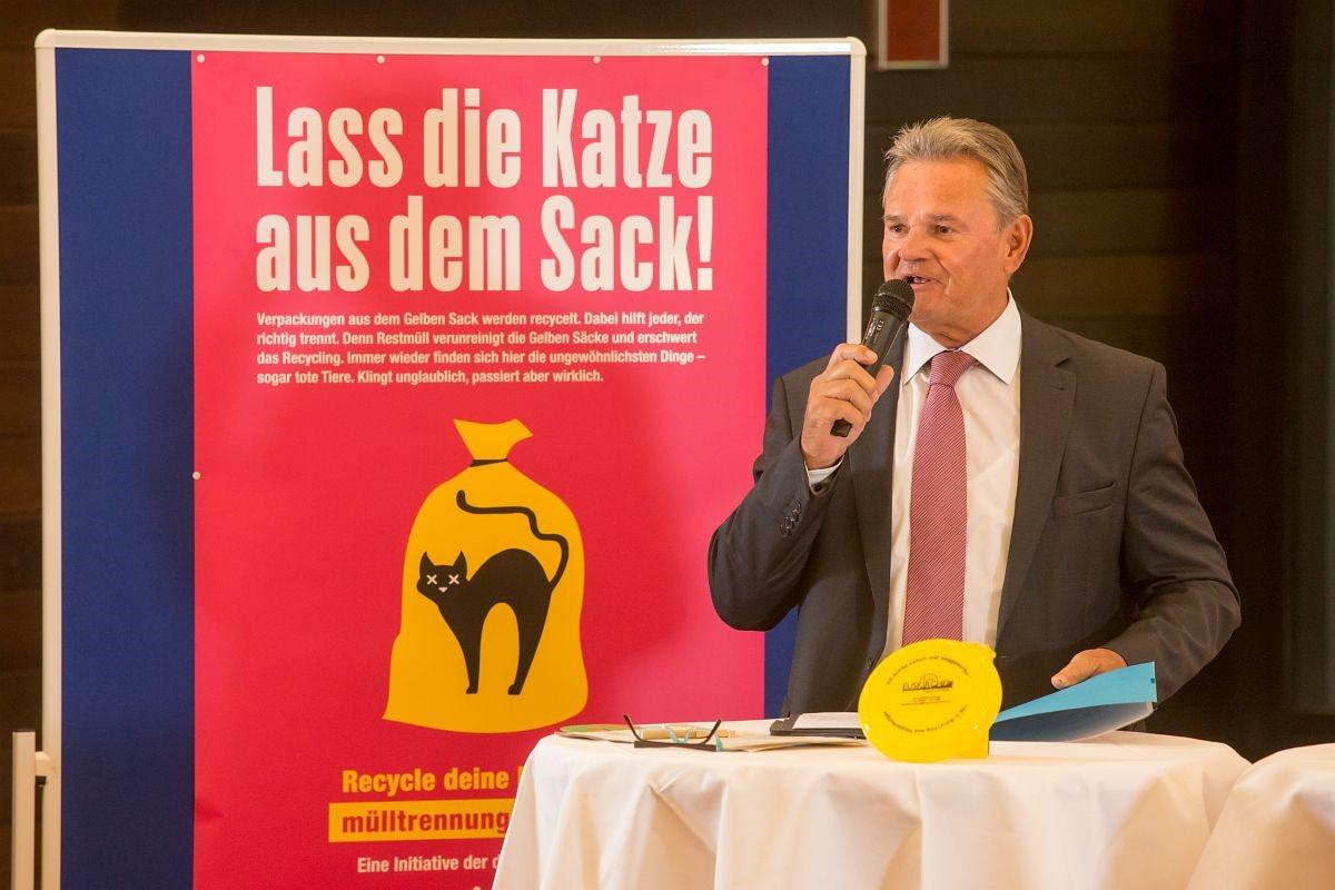 Günter Rosenke, Landrat des Kreises Recklinghausen