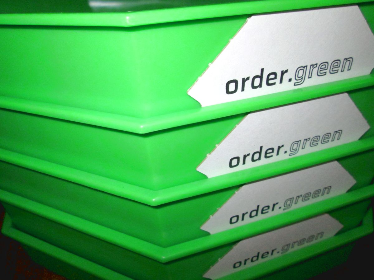 PizzaBow-Stapel (Bild: Ulrich Klose)