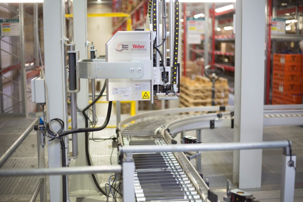 Etikettendruckspender Typ Legi-Air 4050E
