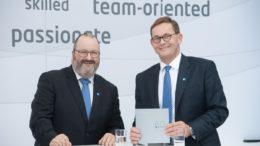 Die KOCH Geschäftsführung Harald Jung und Karl Kappler (von links)
