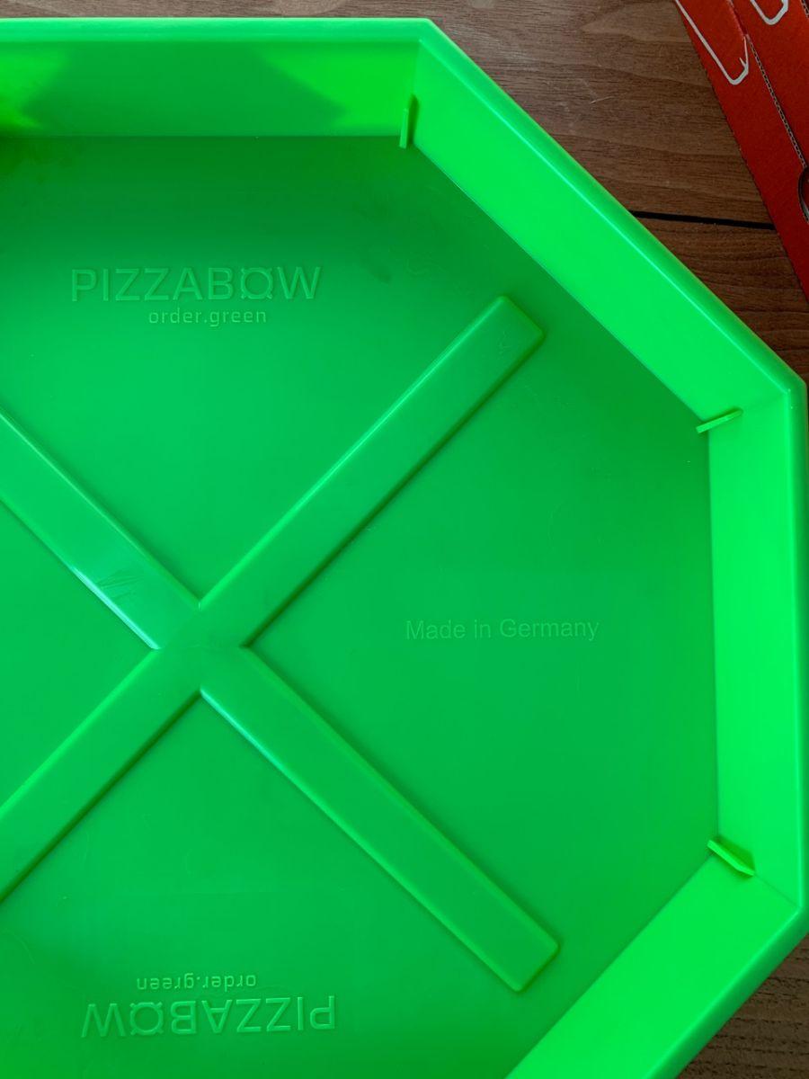 PizzaBow-Kunststoffschale (Bild: Hendrik Single)