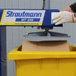 Volumenreduzierung mit Restmüllpressen (Bild: Strautmann Umwelttechnik)