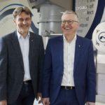 Klaus Feichtinger (l.) und Manfred Hackl (Bild: EPA)
