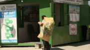 Plastik-Sammelzentrum in Haiti (Bild: Henkel)