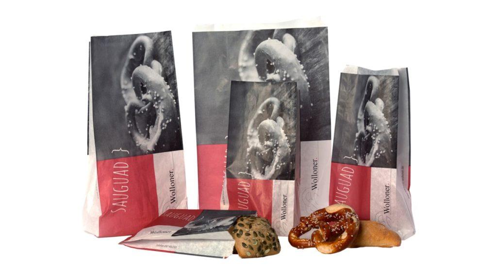 Attraktive Verpackungen für die Bäckerei Wolloner.