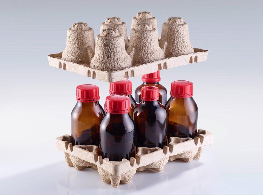 Die GlassPac-Verpackungen für Flaschen sind für den Transport gefährlicher Güter zugelassen.