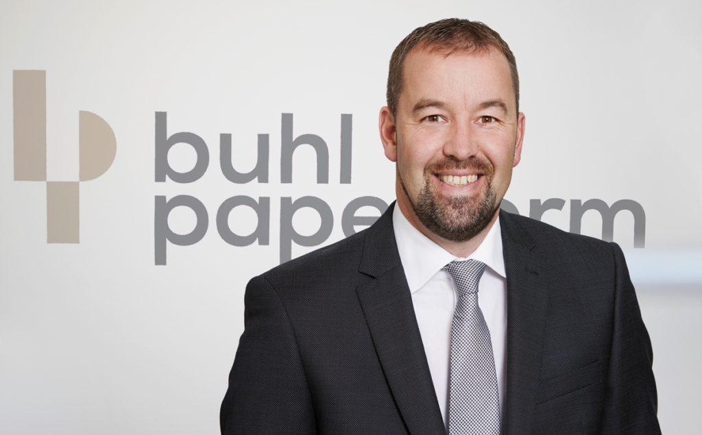 Christoph Buhl, Geschäftsführer/CEO und Inhaber der buhl-paperform GmbH