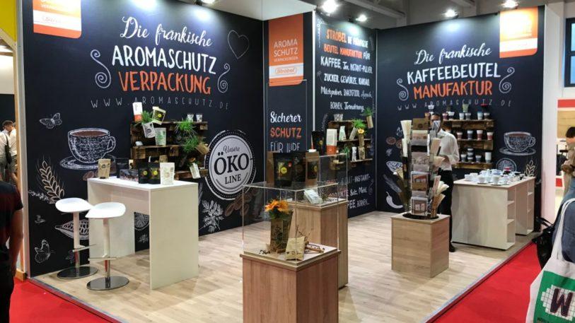 """Ströbel-Messestand auf der """"World of Coffee 2019"""". (Bild: Strröbel GmbH)"""