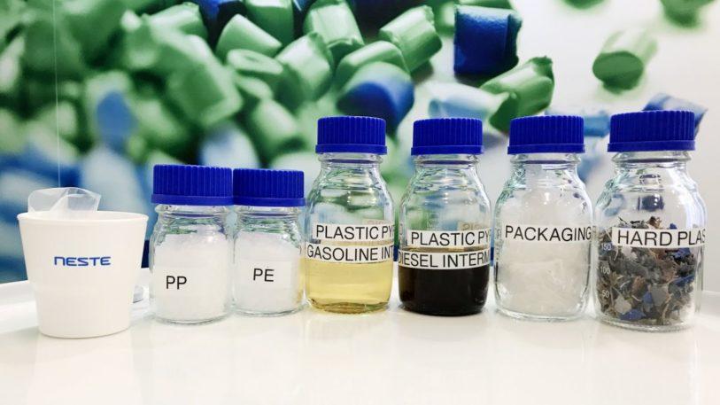 Biobasierte Polymere von Neste und LyondellBasell (Bild: Neste)