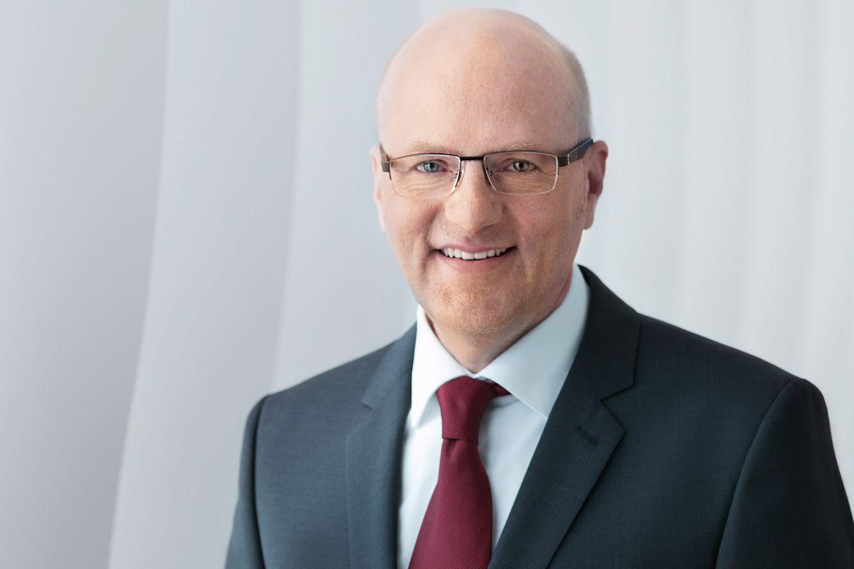 Dr. Reinhard Pfeiffer, Geschäftsführer für die drinktec bei der Messe München. (Messe München)