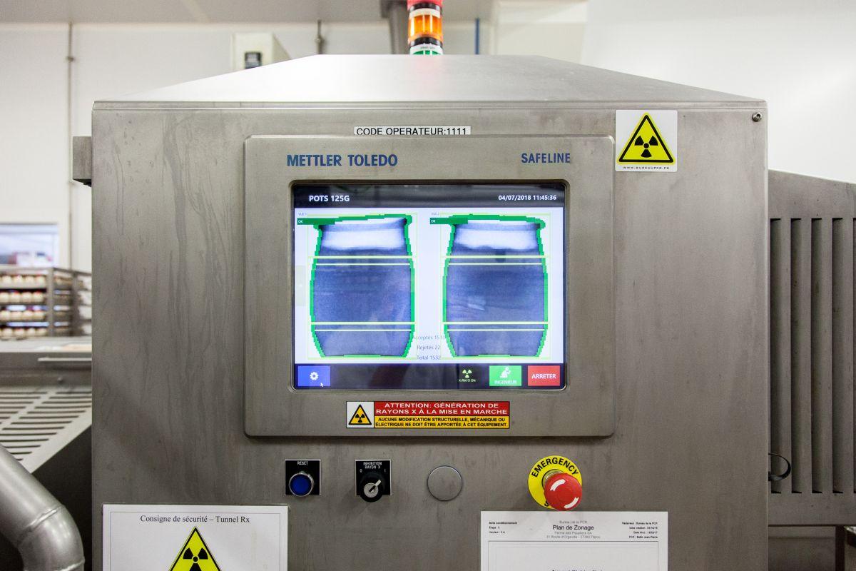 Das Röntgensystem erkennt Verunreinigungen und erfasst Füllstände (Bild: Mettler-Toledo)