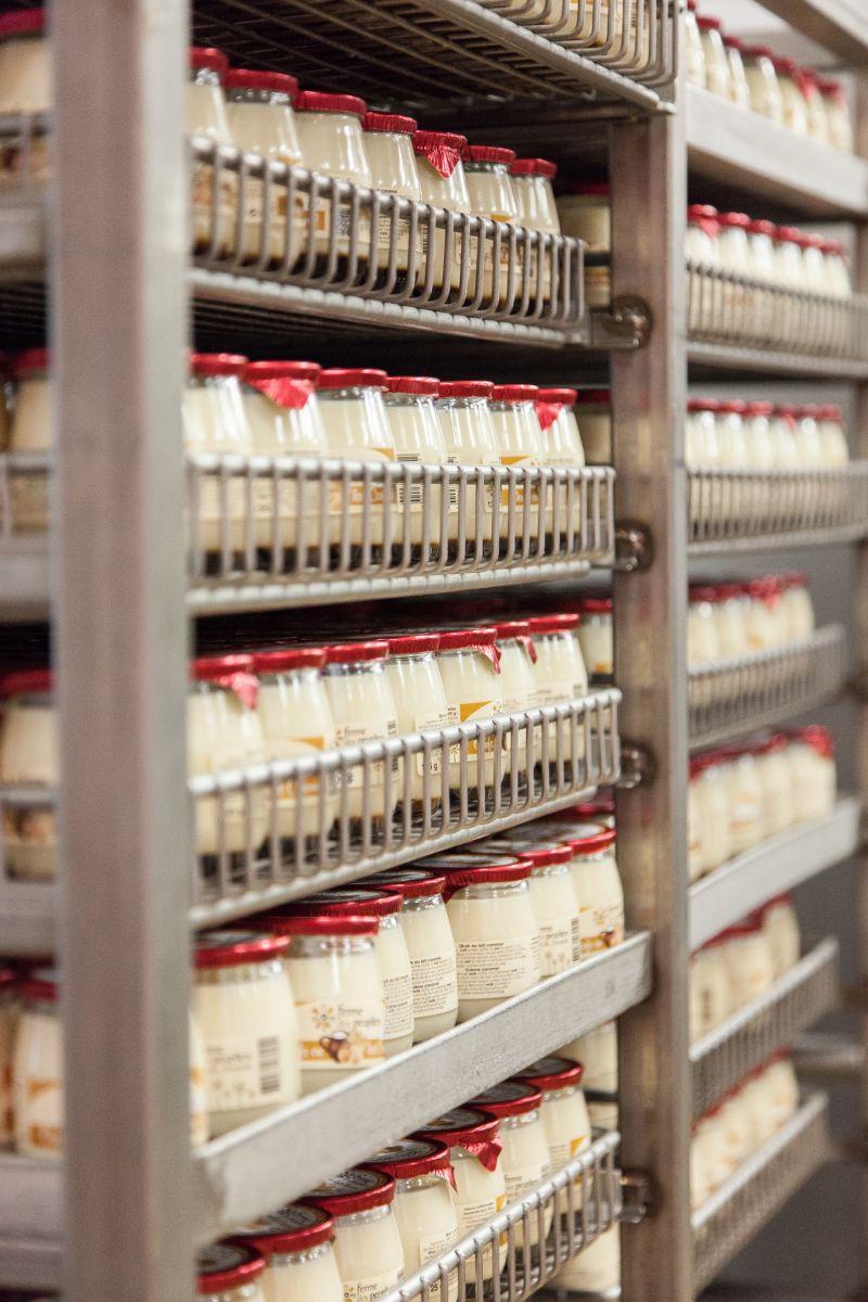 Ferme des Peupliers produziert jährlich zwölf Millionen Gläser Joghurt. (Bild: Mettler-Toledo)