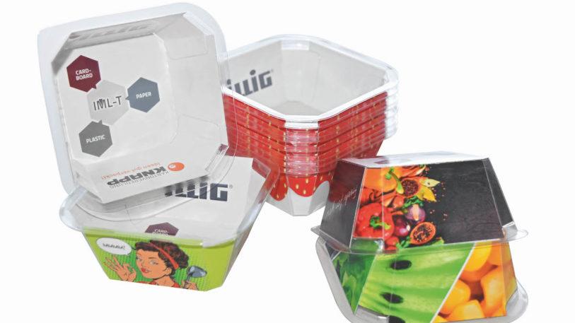 Designed for Recycling: Attraktiv für zahlreiche Anwendungen, IML-T® Cardboard von ILLIG. (Bild: ILLIG)