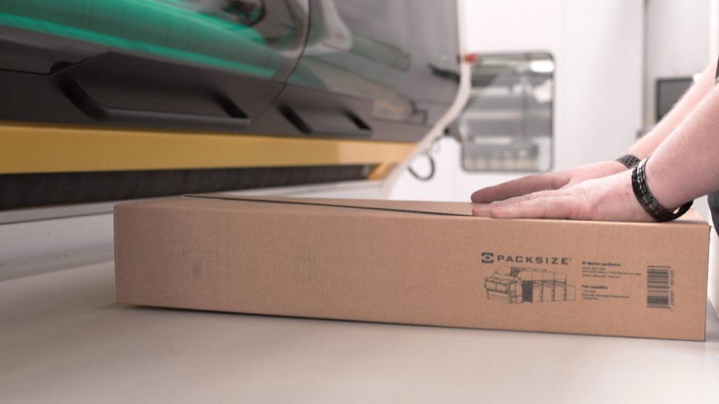 Die M1TM bietet On Demand Packaging und -Printing (Bild: Packsize GmbH)