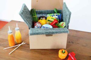 Neuentwicklung Smartliner für den Lebensmittelhandel im Internet