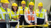 Offizielle Eröffnung der Sortieranlage Ölbronn (Bild: Suez Deutschland)