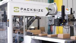 Die X7 ermöglicht vollautomatisches On Demand Packaging (Bild: Packsize GmbH)
