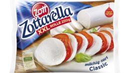 Zottarella-Rolle Mehrschichtverpackung (Bild: Zott)