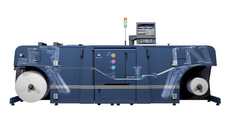 AccurioLabel 230 Etikettendrucksystem (Bild: Konica Minolta)