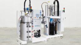 Die 1K-Dosieranlage NODOPOX in Kombination mit der Vakuumabfüllstation TAVA 200 F garantiert höchste Produktqualität ohne Lufteinschluss im Material. (Bild: Tartler GmbH)