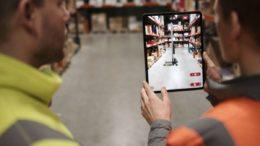 Virtual Engineering App für industrielle Hebelifte von Hovmand (Bild: Hovmand)