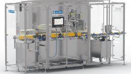 Die neue CUT 32/Plus von ALPMA schafft bis zu 25 Prozent mehr Output an Käsestücken in derselben Zeit. (Bild: ALPMA)