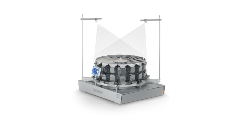 ARGUS-Kamerasystem: den optimalen Produktfluss im Blick. (Bild: MULTIPOND Wägetechnik GmbH)