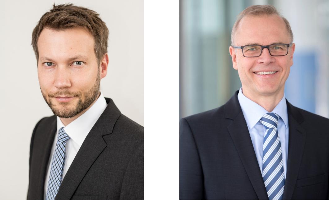 Tobias Ahrens, Leiter Entwicklung und Konstruktion und Jürgen Rabenseifner, Vertriebsleiter (Bild: FLUX-Geräte GmbH)