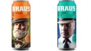 BRAUS Lager und BRAUS Ale (Bild: Ball Corperation)