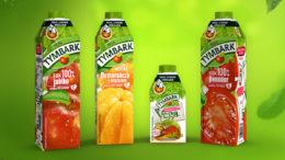 Die Maspex Wadowice Group setzt die Partnerschaft mit SIG fort. Zur Verjüngung der Saftmarke Tymbark entschied sich das Unternehmen für die Kartonflasche combidome, die somit erstmals in Polen gelauncht wird. (Bild: SIG)