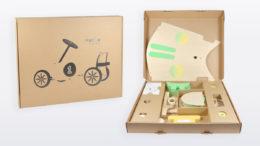 Polsterverpackung für Rutschauto (Bild: Thimm)