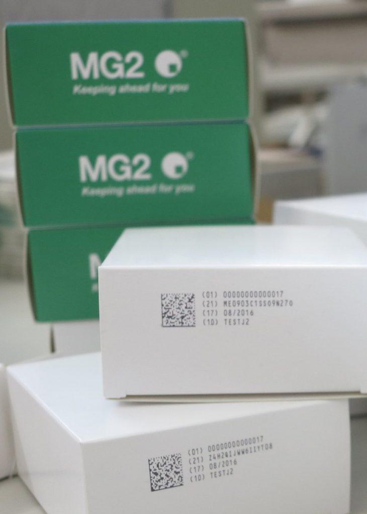 Nichtkonforme Produkte werden automatisch ausgeschleust. (Bild: MG2 s.r.l.)