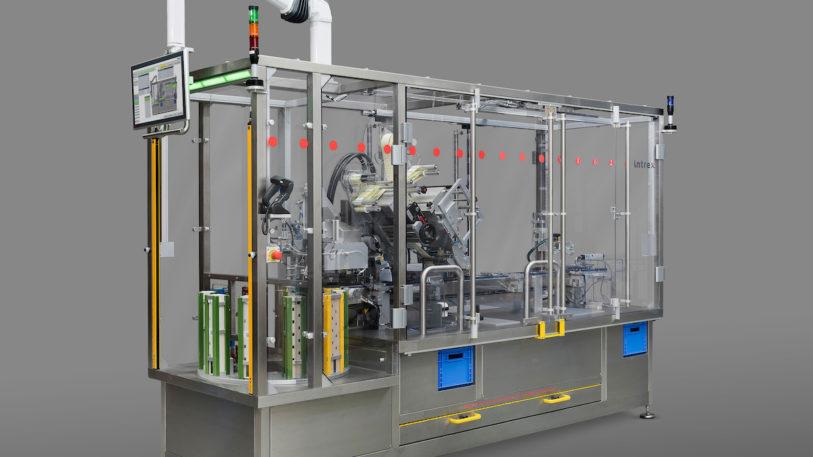 Der LSC-100 hat auf der FachPack 2019 in Nürnberg seine Messepremiere (Bild: Intrex-Deutschland GmbH)