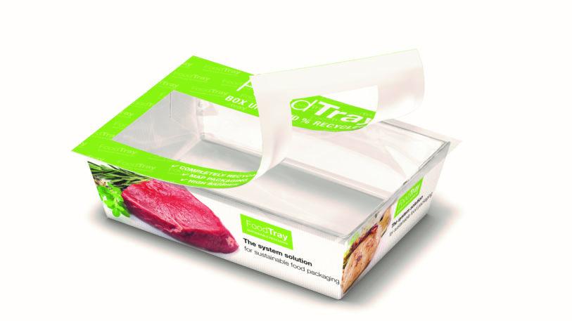 Food Tray, die neue recyclingfähige Systemlösung für nachhaltige Food-Verpackungen von Schur Flexibles. (Bild: Schur Flexibles Group)
