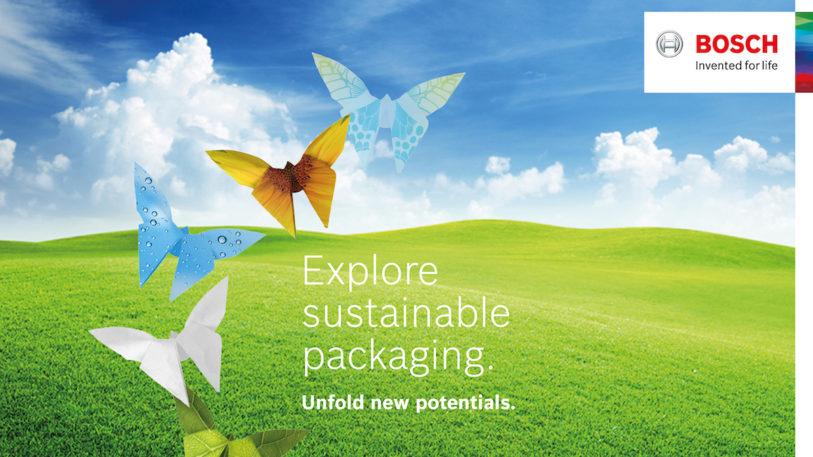 Einsatz für nachhaltige Lebensmittelverpackungen (Bild: Bosch Packaging Technology)