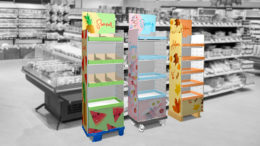 Dressable Shelfs der STI Group im Handel (Bild: STI Group)