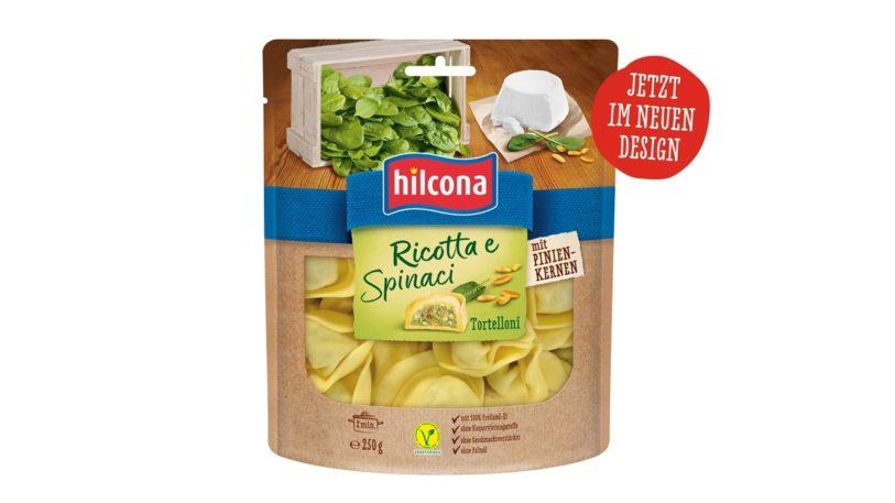 Neues Design der Pasta Classica von Hilcona (Bild: Hilcona AG)