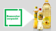 Das 'Bewusster verpackt'-Logo ist bereits auf verschiedenen Kaufland-Eigenmarkenprodukten zu finden. (Bild: Kaufland)