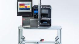 Der eMATRIX® S1108 Tischetikettierer von PROFILABEL (Bild: Profilabel)